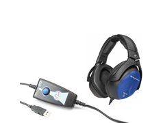 AUDIOMETRO USB AUDIOLYSER ADL 20 FIM MEDICAL -  VIA AEREA